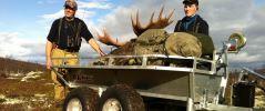 ATV-hengere Unik for landbruk, jegere og skogsarbeidere