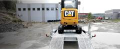 Maskinhengere Hengere for lifter, minigravere og større maskiner