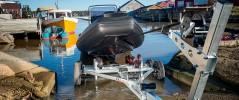Opplagshenger Enkel og trygg henger for sjøsetting og vinterlagring av din båt