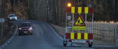 Varselvogn Sikker varsling og opplysning på veien