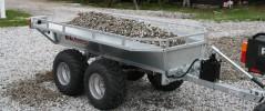 ATV Unik for landbruk, jegere og skogsarbeidere
