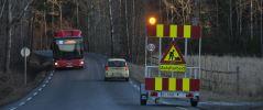 Varselvogn Sikker varsling og informasjon langs veien