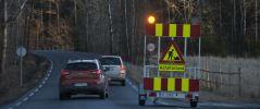 Varselvogn Sikker varsling og opplysning  langs veien